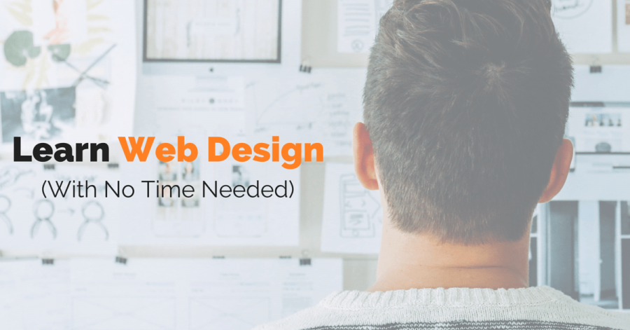 Learn Web Design Skills Without Spending Time Studying
