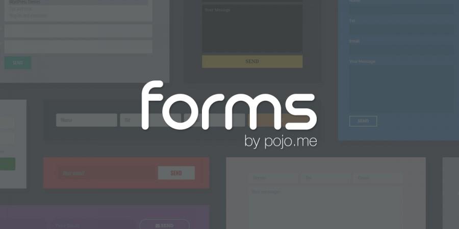 Meet Pojo Forms – the Drag & Drop Form Plugin