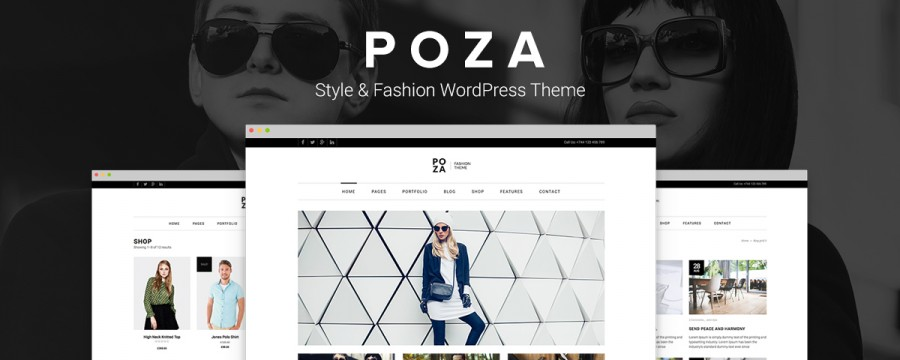 Poza – Highly Styled Chic WordPress Theme