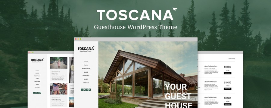 Toscana – The Ultimate WP Theme for Guesthouses