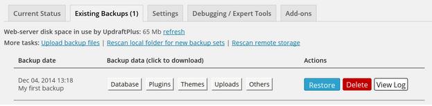 existing_backups