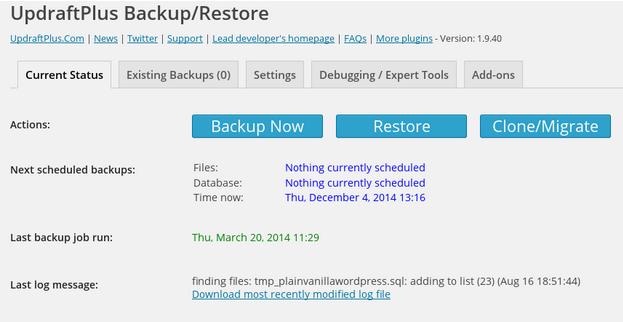 updraftplus_backup