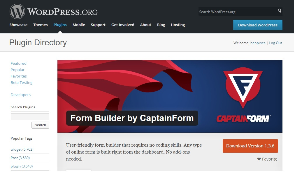 captainform-in-wordpress-org