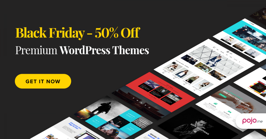 Get 50% OFF Pojo Themes for Elementor, Our Best Deal of the Year!